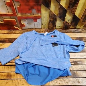 Under Armour Heat Gear Womens LS Size Small
